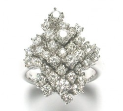 Champagne ring by Damiani