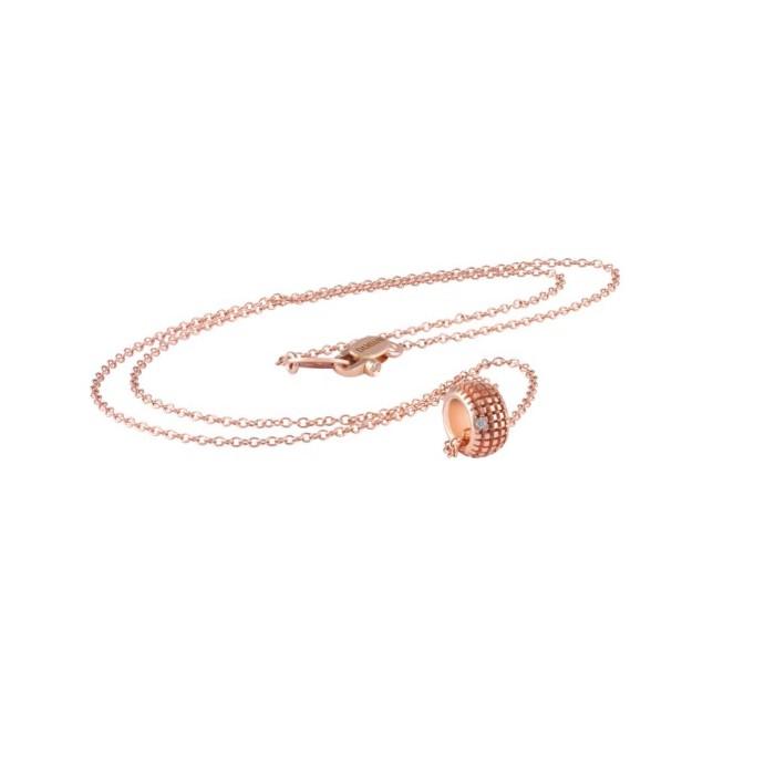 Collana Damiani Metropolitan dream in oro rosa e diamanti