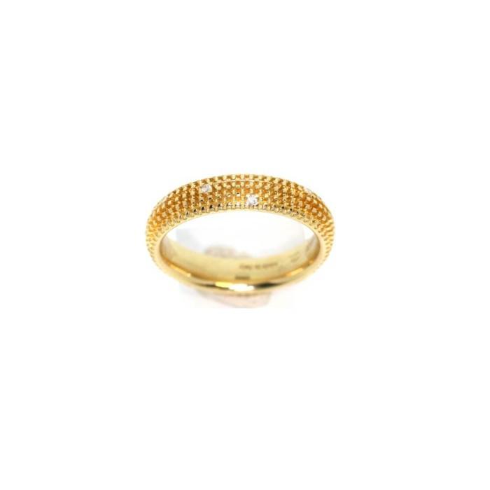METROPOLITAN DREAM - Anello in oro giallo