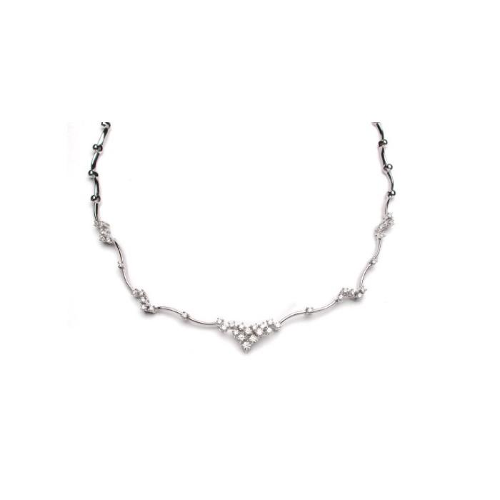 Collana Damiani Appeal in oro bianco con diamanti