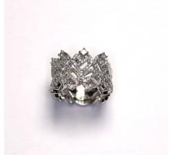 Anello Damiani Madeira in oro bianco e diamanti