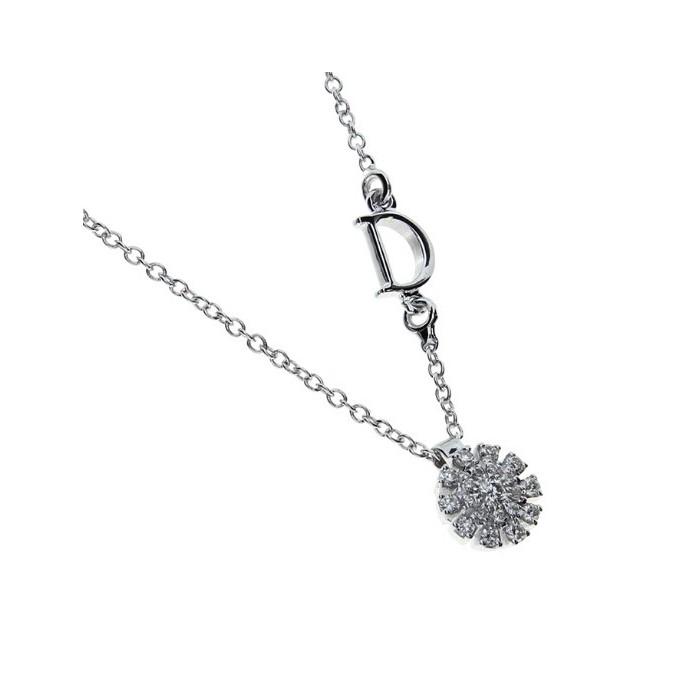 Collier Damiani Cristal in oro bianco e diamanti