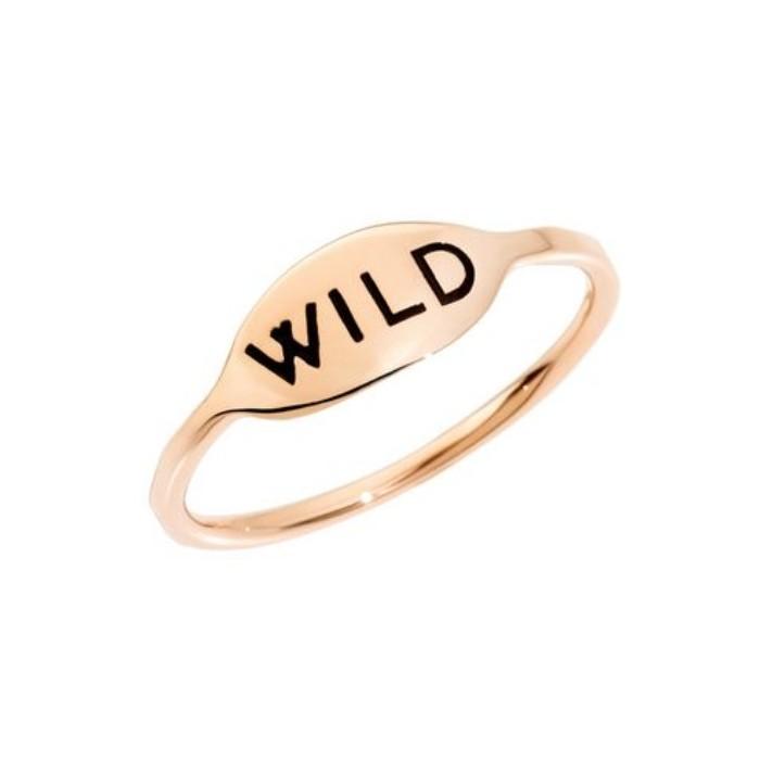 Anello WILD oro rosa