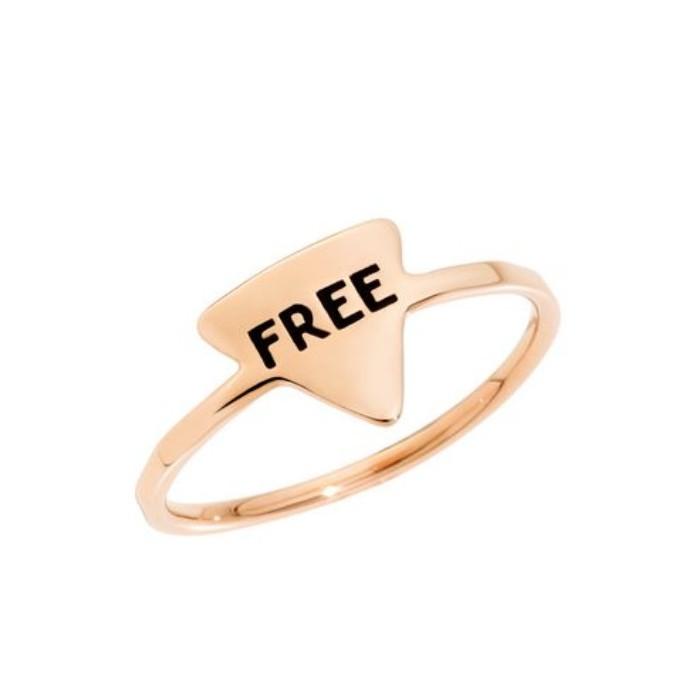 Anello FREE oro rosa