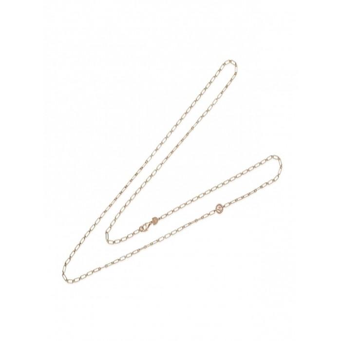 Catena oro rosa 90 cm