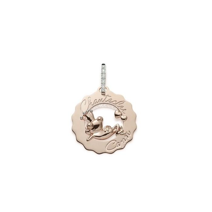 Mono Orecchino Logo piccolo principe ranocchio