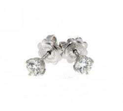 Anello Damiani Rosa del Sud in oro bianco e diamanti