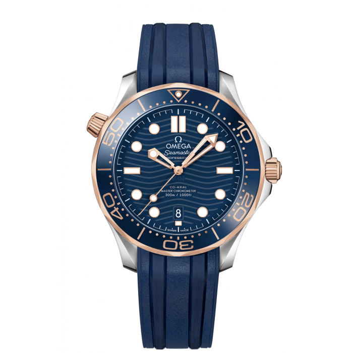 SEAMASTER DIVER 300M OMEGA CO‑AXIAL MASTER CHRONOMETER 42 MM