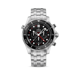 SEAMASTER DIVER 300M CO‑AXIAL GMT CHRONOGRAPH 44 MM