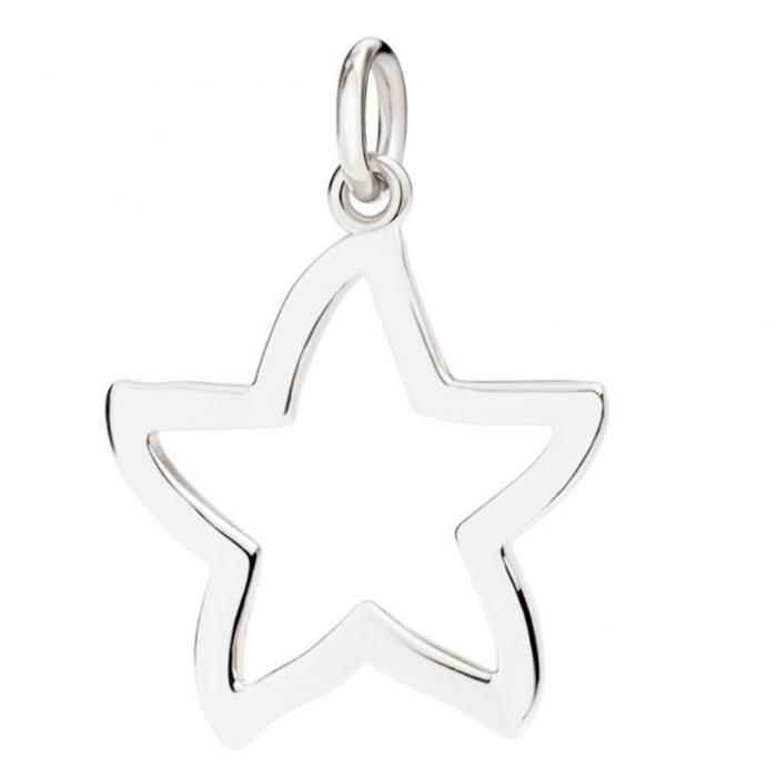 Silhouette stella argento