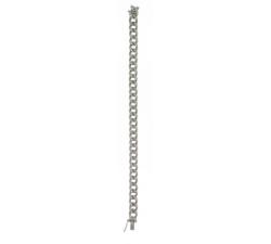 Bracciale Groumette in Oro Bianco con Diamanti