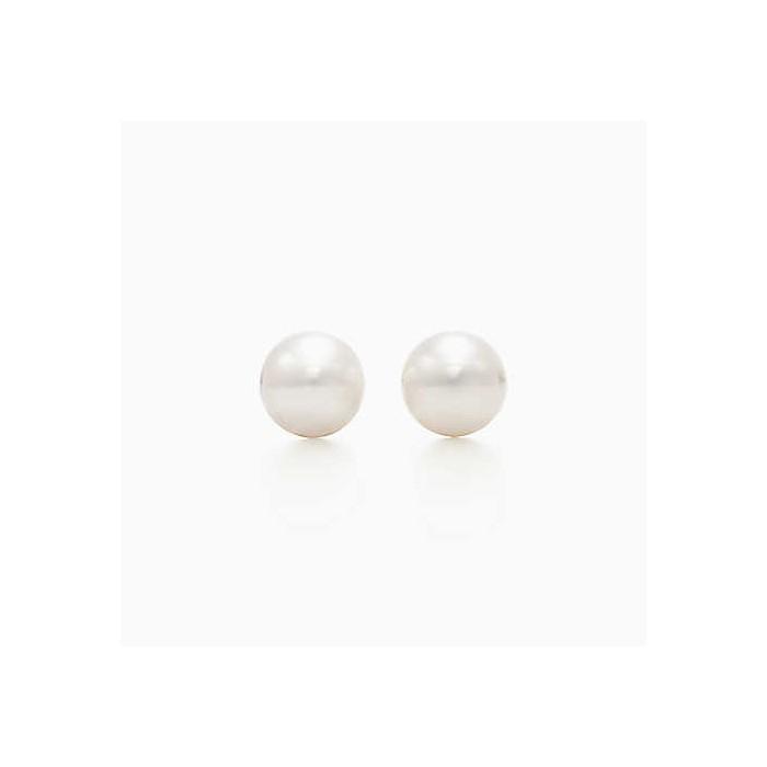 Orecchini Damiani con perle giapponesi mm 6,5