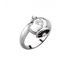 Anello campanella in argento