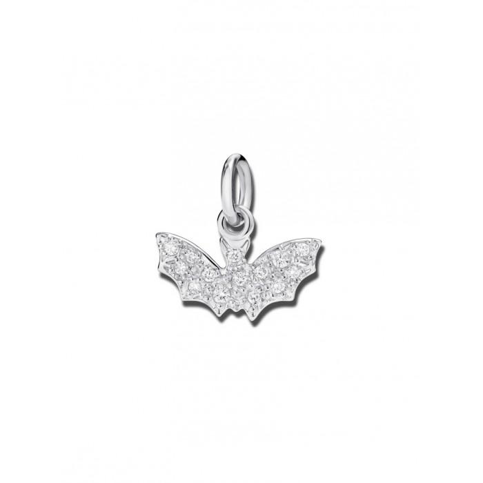 pipistrello con diamanti